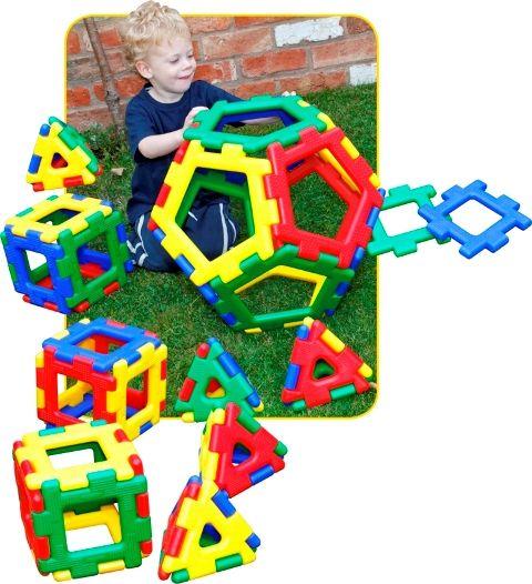 Milžiniškas 3D konstruktorius ROMBAI