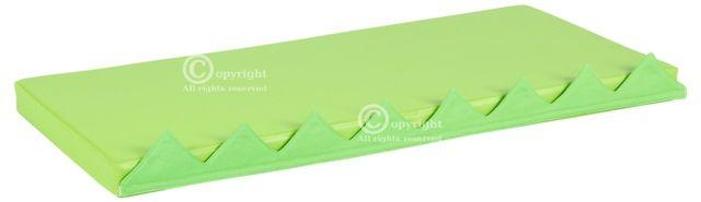 Čiužinių rinkinys manipuliacinei sienelei, žalias