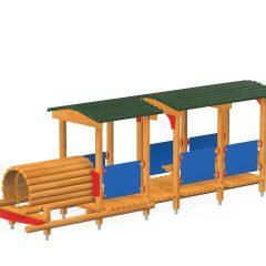 Pilnas traukinukas
