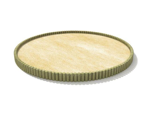 Apvali smėlio dėžė