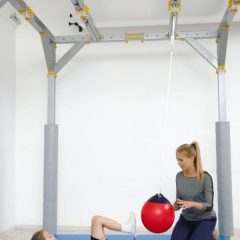 Sporto salės sūpuoklė-kamuolys