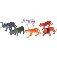 Safari gyvūnai, plastikiniai