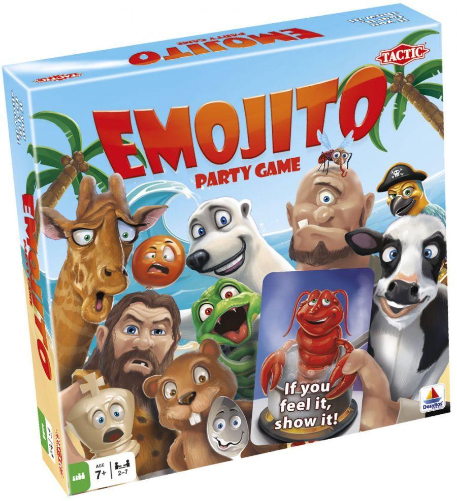 """Emocijų pažinimo stalo žaidimas """"EMOJITO"""""""