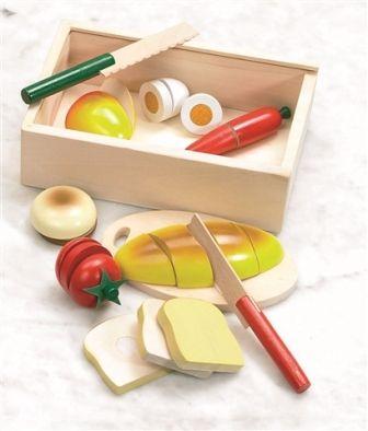 Pjaustomi medinukai maisto produktai