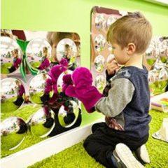 Akrilinių veidrodžių lenta, 490 mm