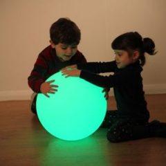 Sensorinis šviečiantis kamuolys