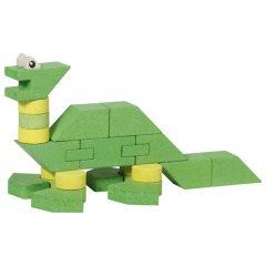 """Kaladėlės iš akmens """"Dinozaurai"""", 23 detalės"""