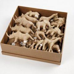 Afrikos gyvūnų figūrėlės