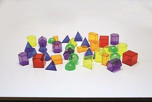Geometrinės formos 3D