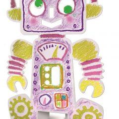 """Kūrybinis žaidimas """"Robotų šeima"""""""