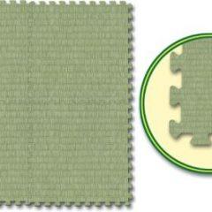 Minkštas dėlionės tipo kilimas