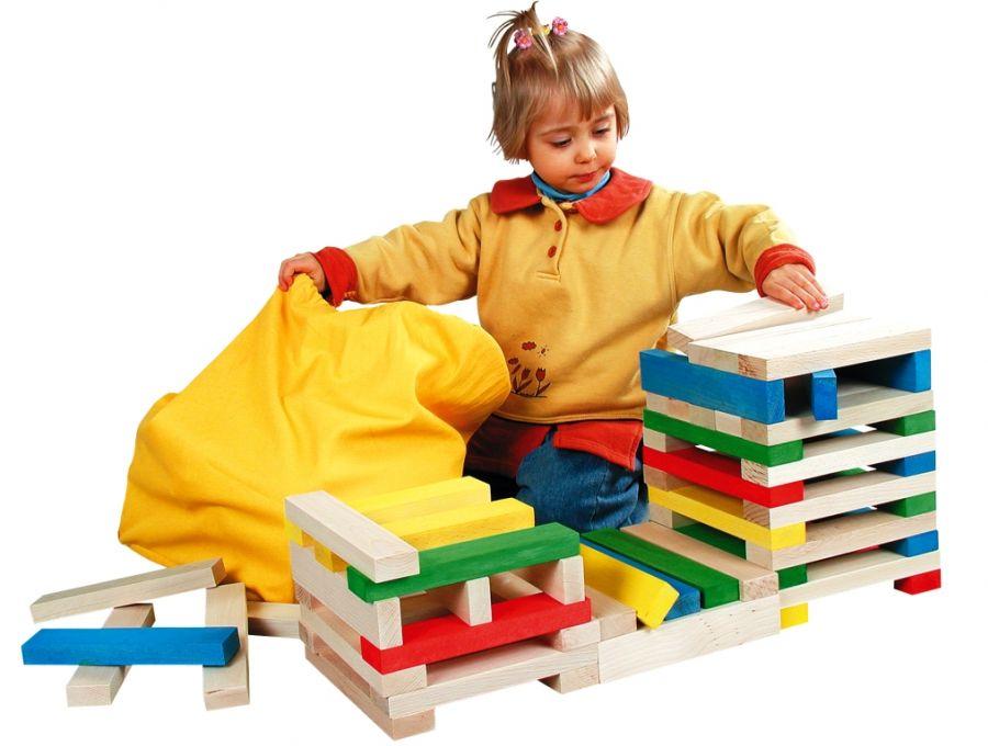 Medinių blokų rinkinys