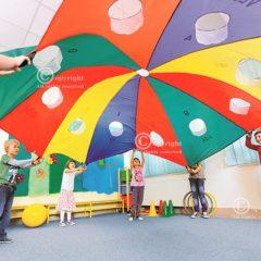 Žaidimų parašiutas ø  3,5 m