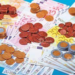 Žaislinių Eurų rinkinys