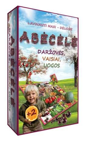 """Lavinamoji abėcėlė """"Daržovės, vaisiai, uogos"""""""