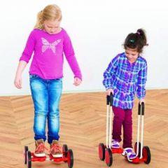 Balansinis vežimėlis su rankenomis