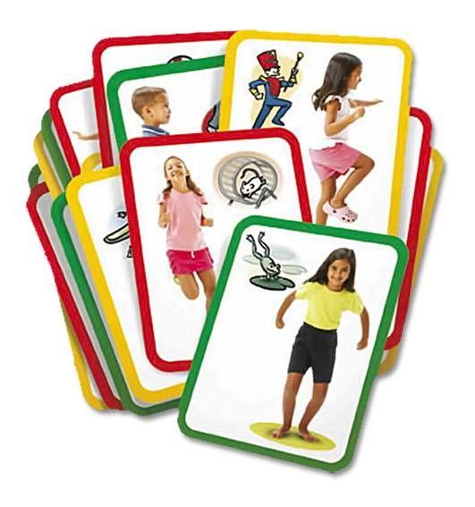 Gimnastikos užduočių kortelės sportui