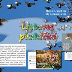 """Mokomieji plakatai """"Lietuvos paukščiai"""""""