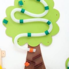 "Dekoracija su kamuoliukų trasa ""Medis"""