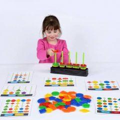 Edukacinis žaidimas – mokomės geometrinių formų