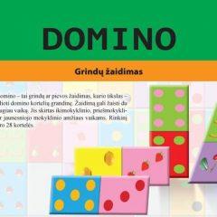 Grindų žaidimas Domino