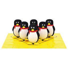Kėgliai-pingviniukai