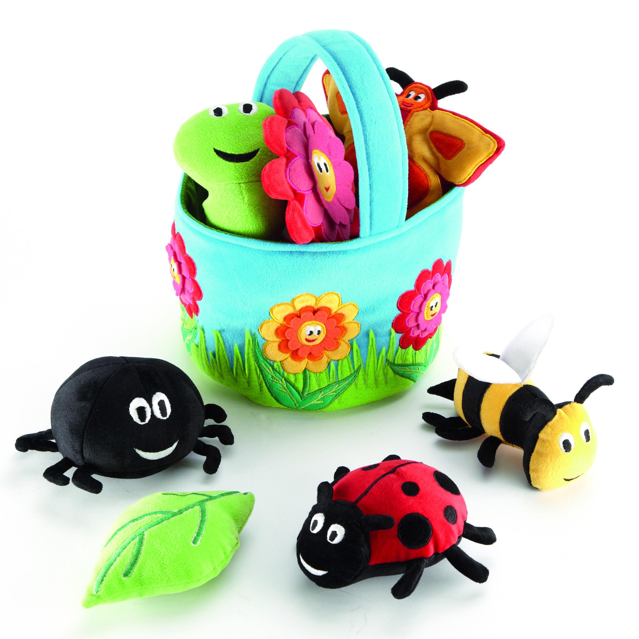 Krepšelis su vabzdžiais