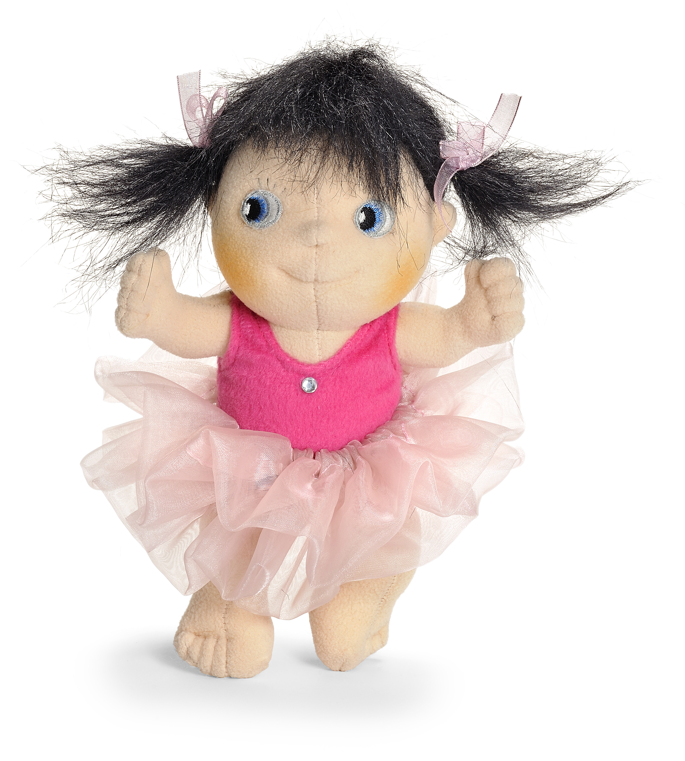 "Rankų darbo lėlė ""Mini balerina Bela"" 24 cm"