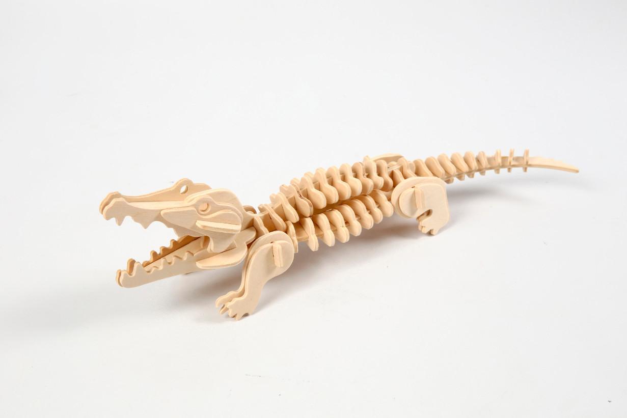 """3D dėlionė """"Krokodilas"""""""