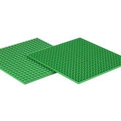 LEGO lentelės – Padukai/žalia spalva, 4 vnt.