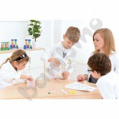 Vaikiškas laboratorinis chalatas