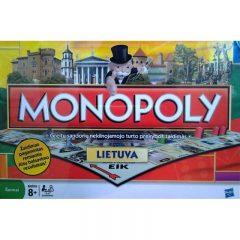 """Hasbro Žaidimas """"Monopolis: Lietuva"""", LT"""