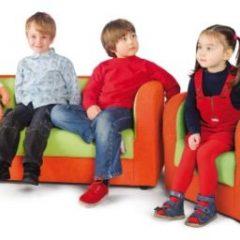 Fotelis oranžinės spalvos