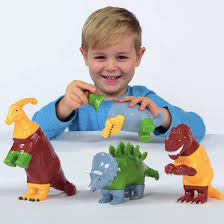 """Magnetinis konstruktorius """"Dinozaurai"""""""