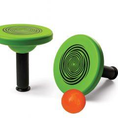 Koordinacijos diskas su kamuoliuku